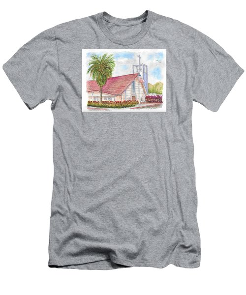 St. Charles Catholic Church, San Diego, California Men's T-Shirt (Athletic Fit)