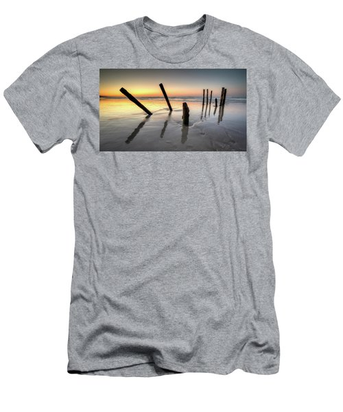 St Clair Sunset Men's T-Shirt (Slim Fit) by Brad Grove