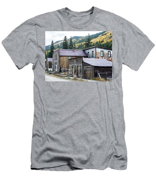 Men's T-Shirt (Athletic Fit) featuring the photograph St. Elmo A Colorado Ghost Town by Nadja Rider