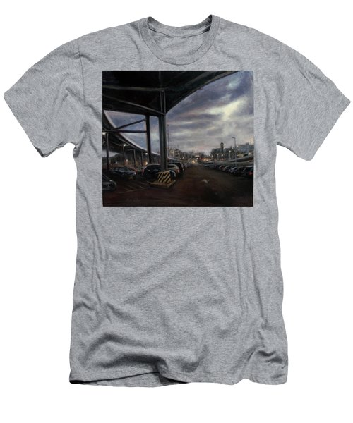 St. George From The Staten Island Ferry Terminal Men's T-Shirt (Athletic Fit)