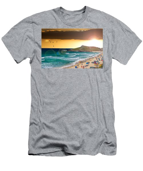 St Ives Cornwall Uk Men's T-Shirt (Athletic Fit)