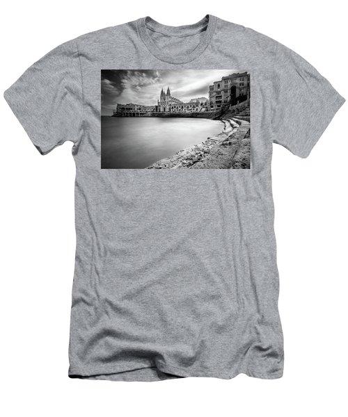 St. Julian's Bay Men's T-Shirt (Athletic Fit)