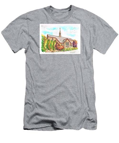 St. Mary's Catholic Church, Brighton, Utah Men's T-Shirt (Slim Fit) by Carlos G Groppa