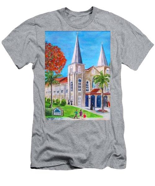 St. Mary's Catholic Church Key West Men's T-Shirt (Athletic Fit)