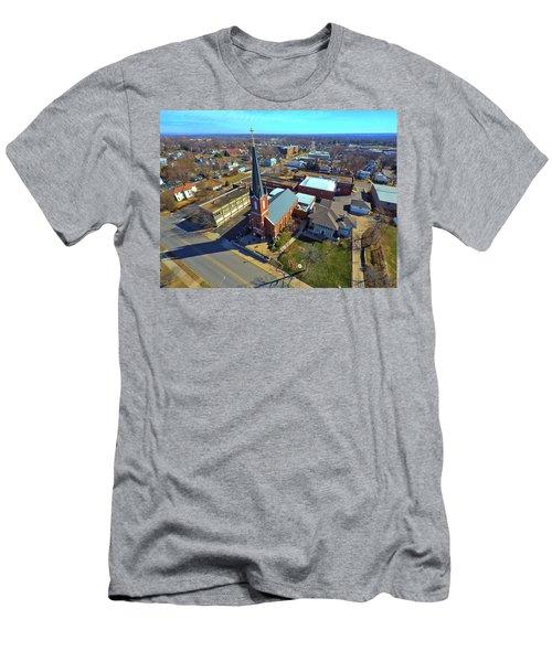 St. Marys Men's T-Shirt (Slim Fit) by Dave Luebbert
