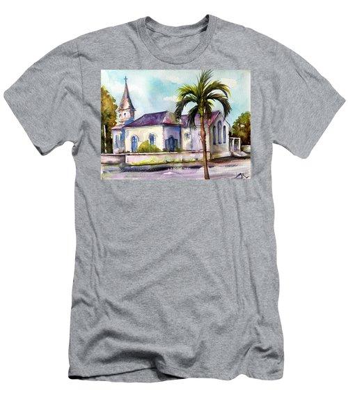 St. Matthews Church, Nassau Men's T-Shirt (Athletic Fit)
