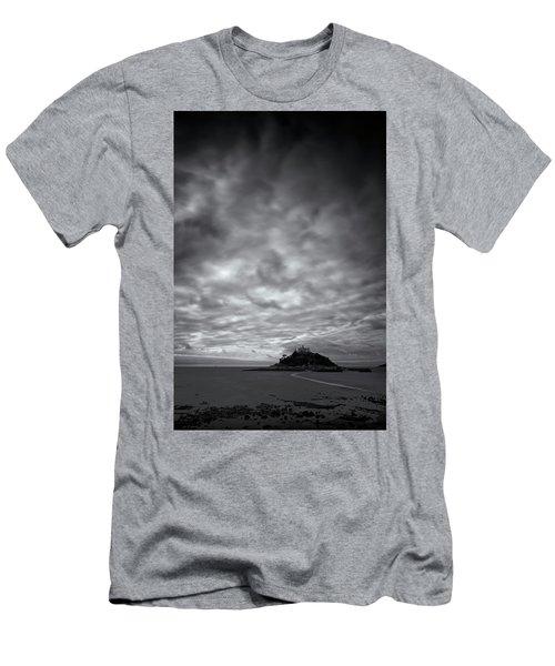 St Michael's Mount Men's T-Shirt (Slim Fit) by Dominique Dubied