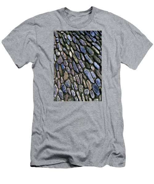 Men's T-Shirt (Athletic Fit) featuring the digital art St Michael's Path by Julian Perry