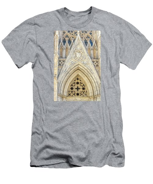 St. Patrick's Cathedral Men's T-Shirt (Slim Fit) by Sabine Edrissi