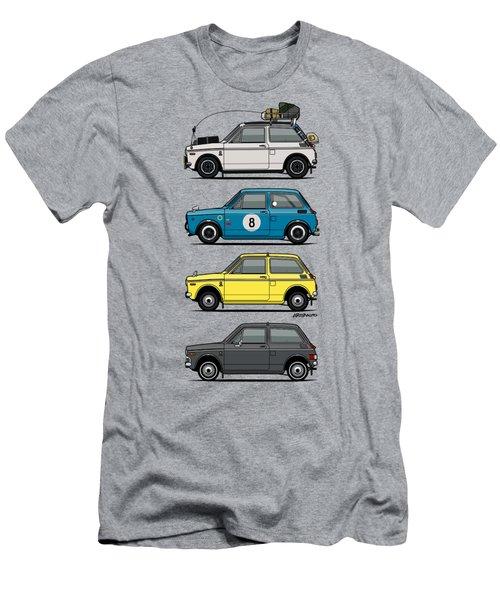 Stack Of Honda N360 N600 Kei Cars Men's T-Shirt (Athletic Fit)