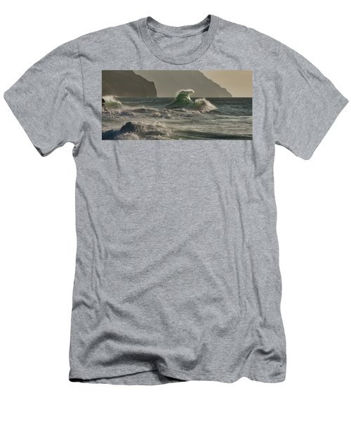 Stack Wave Men's T-Shirt (Athletic Fit)