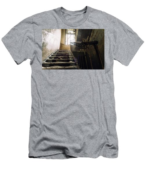 Stairs In Haunted House Men's T-Shirt (Athletic Fit)