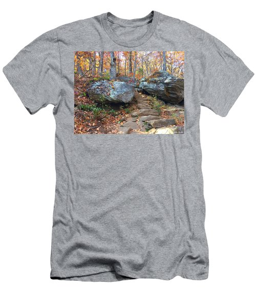 Stairway Men's T-Shirt (Athletic Fit)