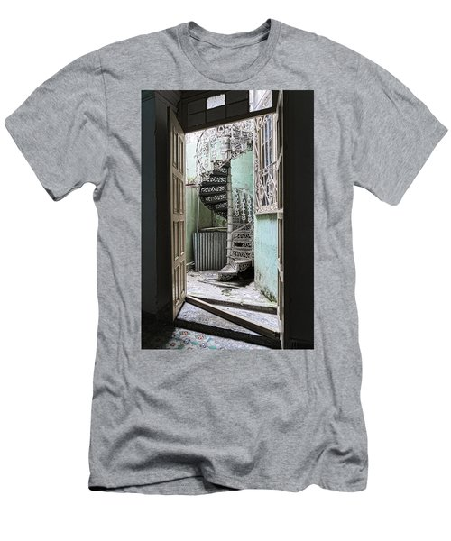 Stairway To Up Men's T-Shirt (Athletic Fit)