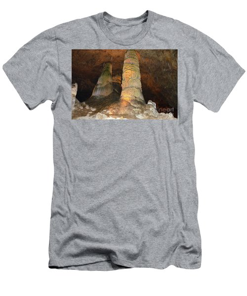 Stalagmites And Stalactites Men's T-Shirt (Athletic Fit)