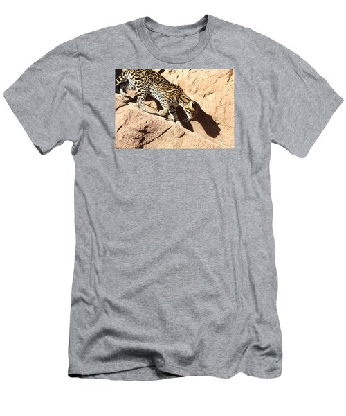 Stalking Ocelot Men's T-Shirt (Athletic Fit)