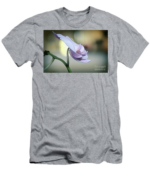 Standing Alone In Silence Men's T-Shirt (Slim Fit) by Diana Mary Sharpton