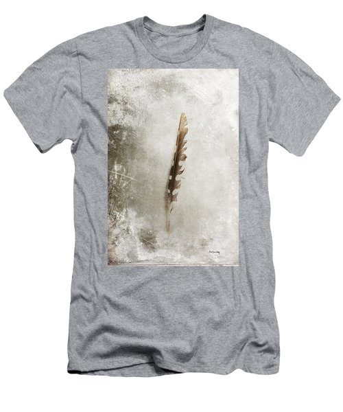 Standing Feather Men's T-Shirt (Athletic Fit)