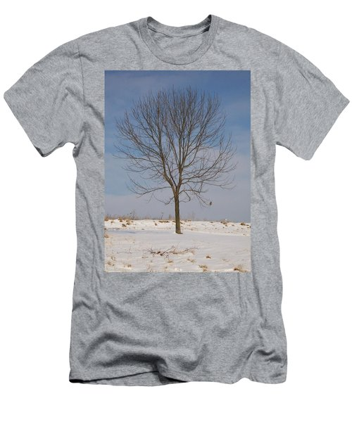 Men's T-Shirt (Slim Fit) featuring the photograph Standing Tall by Sara  Raber