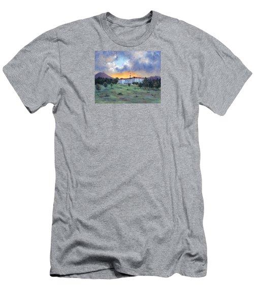 Stanley Hotel Sunset Men's T-Shirt (Slim Fit) by Jill Musser