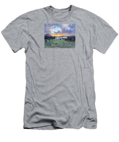 Stanley Hotel Sunset Men's T-Shirt (Slim Fit)