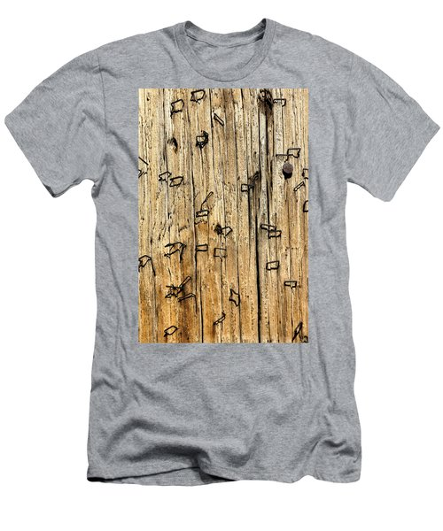 Stapled Men's T-Shirt (Athletic Fit)