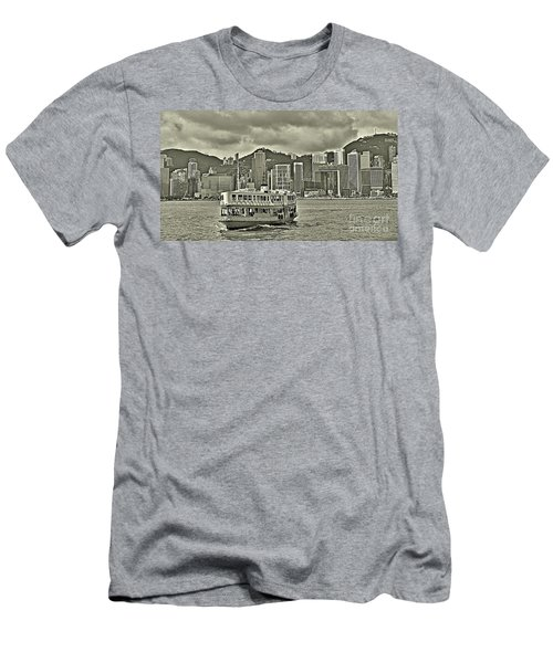 Star Ferry In Hong Kong Men's T-Shirt (Athletic Fit)