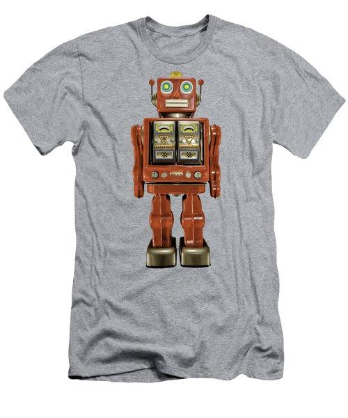 Star Strider Robot Red Men's T-Shirt (Athletic Fit)