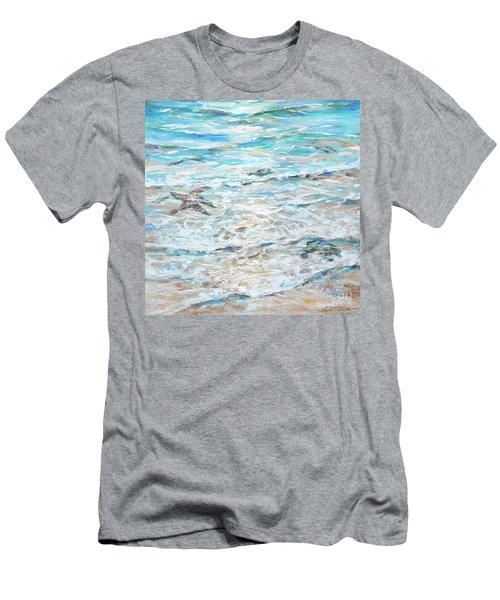 Starfish Under Shallows Men's T-Shirt (Athletic Fit)