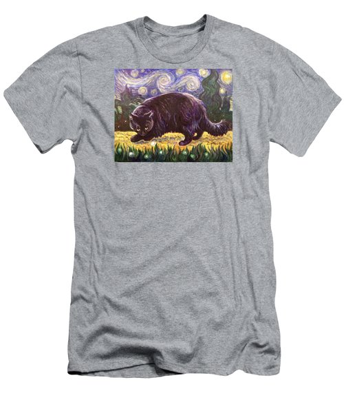 Starry Night Stroll Men's T-Shirt (Slim Fit) by Laura Aceto