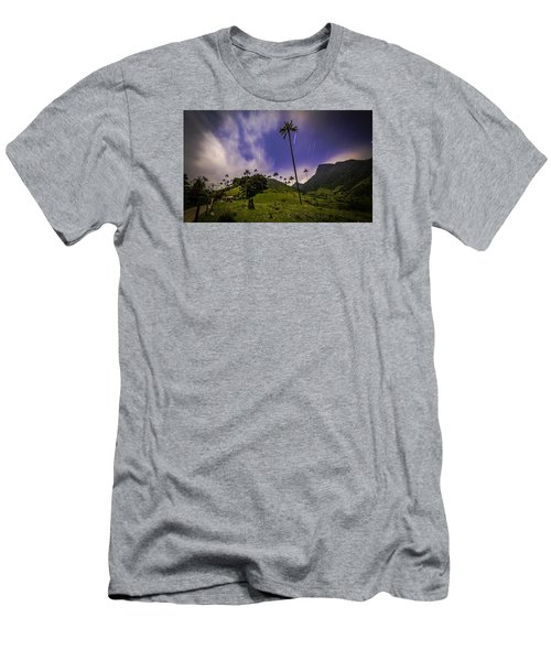 Stars In The Valley Men's T-Shirt (Athletic Fit)