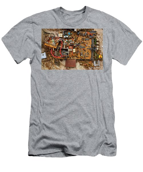 Men's T-Shirt (Slim Fit) featuring the photograph State Of The Art by Christopher Holmes