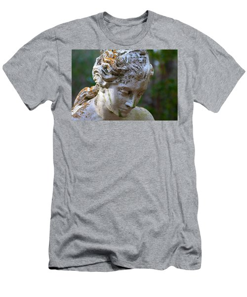Statue At Magnolia Gardens Men's T-Shirt (Athletic Fit)