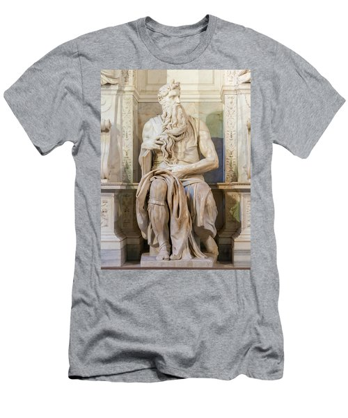 Statue Of Moses Men's T-Shirt (Athletic Fit)