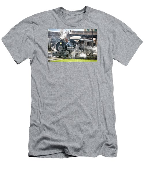 Steam Engine #30 Men's T-Shirt (Athletic Fit)
