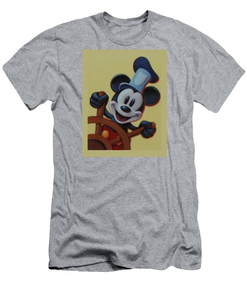 Steamboat Willy Men's T-Shirt (Slim Fit) by Rob Hans