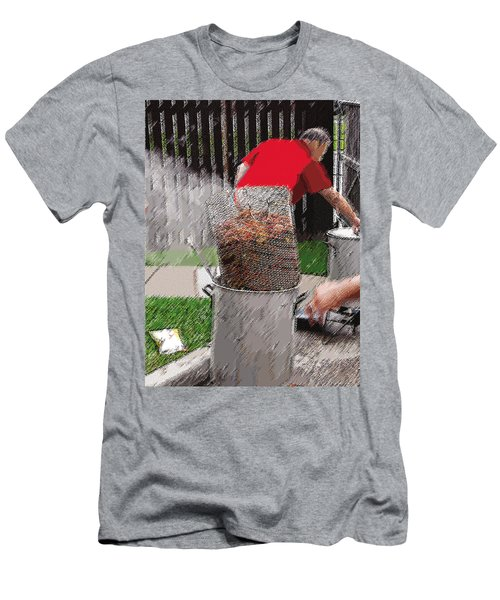 Steaming Mud Bugs For Falvor Men's T-Shirt (Athletic Fit)