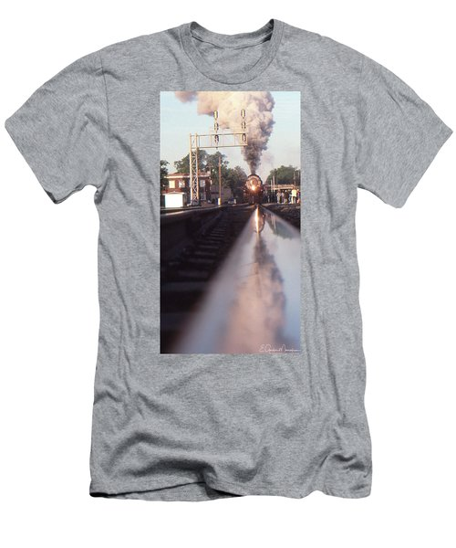 Steaming Up Men's T-Shirt (Slim Fit) by Gordon Mooneyhan