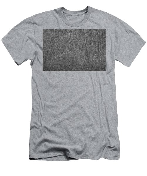 Steel Gray Grass Men's T-Shirt (Athletic Fit)