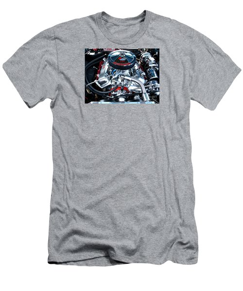 Men's T-Shirt (Slim Fit) featuring the photograph Steel Heartbeat by Rebecca Davis