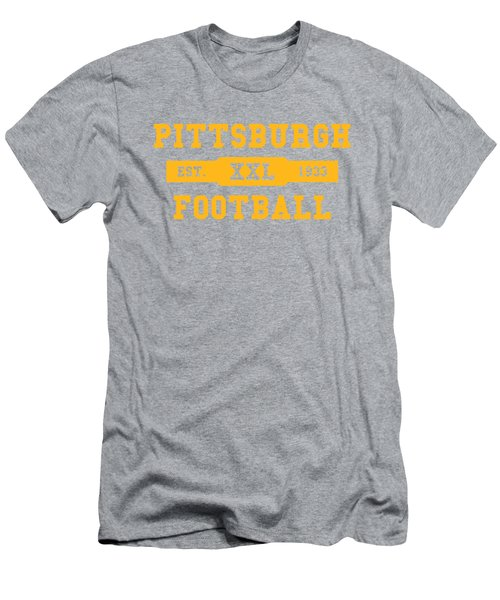 Steelers Retro Shirt Men's T-Shirt (Athletic Fit)