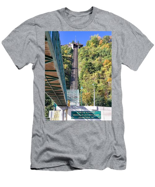 Steep Johnstown Incline Men's T-Shirt (Athletic Fit)