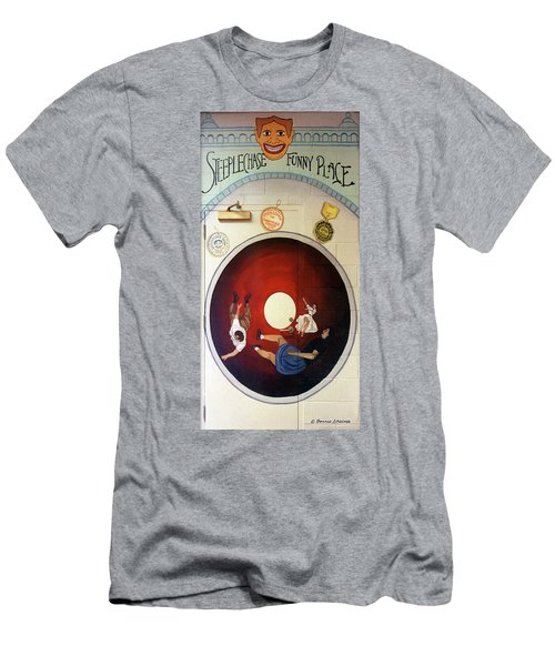 Steeple Chasetunnel Of Love Men's T-Shirt (Athletic Fit)