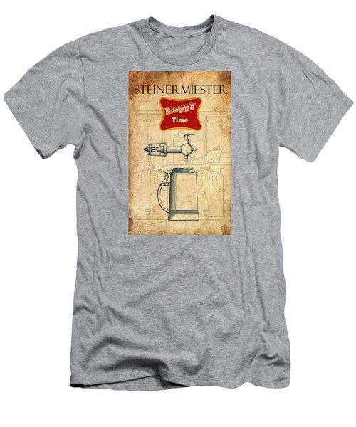 Steinermiester Men's T-Shirt (Slim Fit) by Greg Sharpe