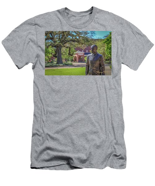 Stephens, Oaks And Walk Of Honor Men's T-Shirt (Slim Fit) by Gregory Daley  PPSA