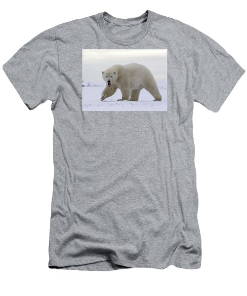 Stepping Out In The Arctic Men's T-Shirt (Athletic Fit)