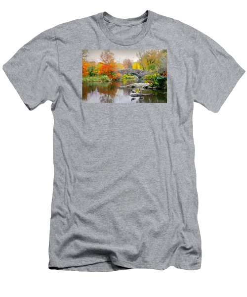 Stepping Stones Men's T-Shirt (Slim Fit) by Diana Angstadt