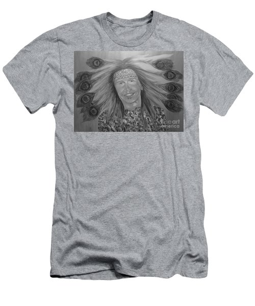 Steven Tyler Art Men's T-Shirt (Athletic Fit)