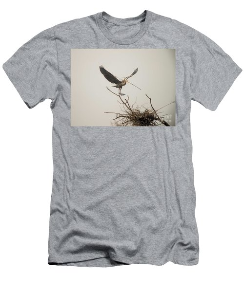 Men's T-Shirt (Slim Fit) featuring the photograph Stick Man by David Bearden