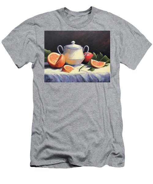 Still Life With Oranges Men's T-Shirt (Athletic Fit)